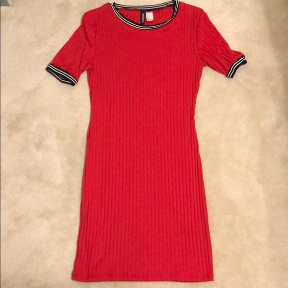 fe00d2d0dd1 Divided Dresses   Skirts - Ribbed tee shirt dress